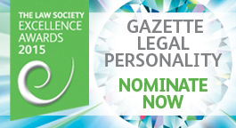 Legal personality of the year