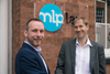 MLP Law's managing director, Stephen Attree welcomes William H Lill partner Seb Jackson (right)