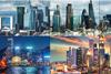 Paris, London, Hong Kong and Singapore
