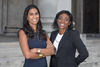Halebury's Janvi Patel and Denise Nurse