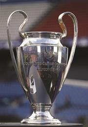 Champions league trophy copy