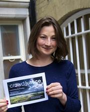 Julia Salasky CrowdJustice at LegalWalk 2015