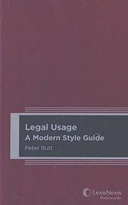 Legal usage: A modern style guide