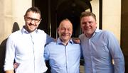 David Marlor, Nick Johnson and David Jones