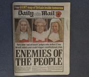 Daily Mail 4 November 2016