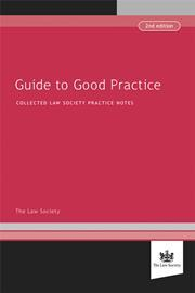 Guide to good practice book