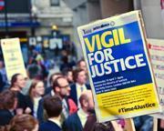 Vigil for justice