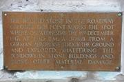 Memorial plaque, Stone Buildings