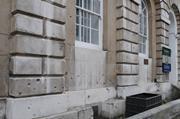 1917 bomb damage, Stone Buildings