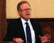 Lord Justice Jackson introduces his final report on civil litigation costs at the Law Society