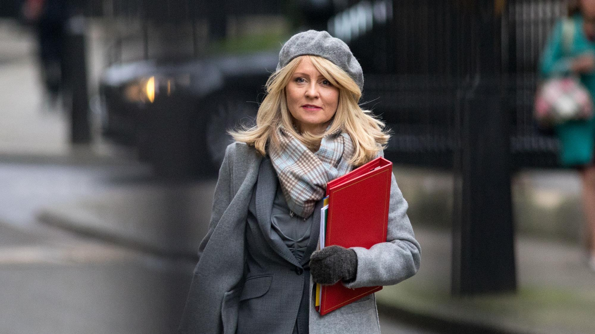 Esther McVey, work and pensions secretary