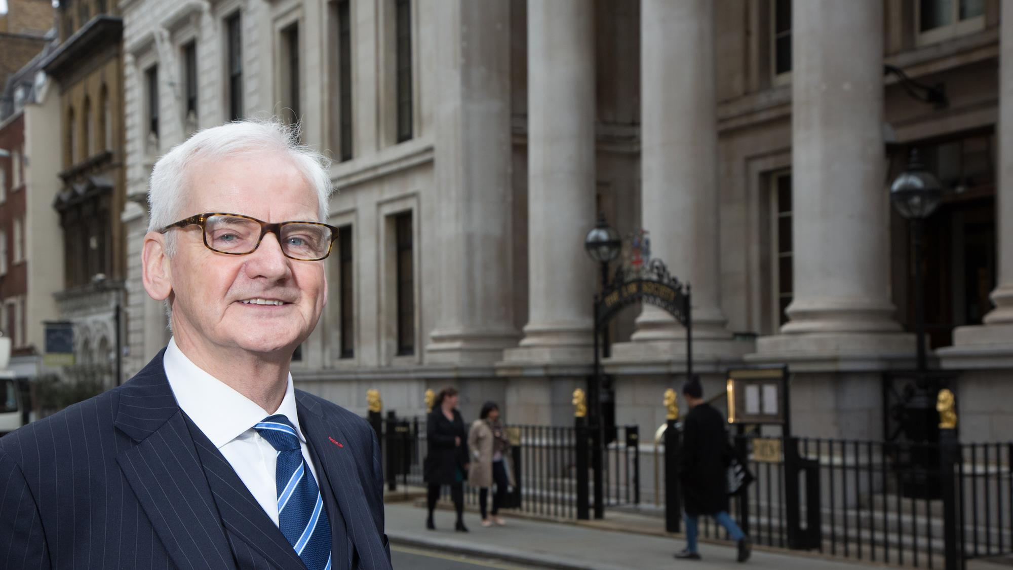 Joe Egan, New Law Society President