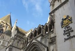 Royal Courts of Justice, Strand London