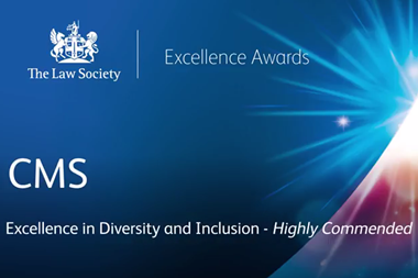 The Law Society Excellence Awards 2017: CMS