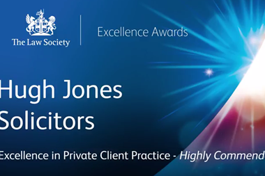 Excellence in Private Client Practice – Highly Commended