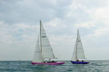Mermaid class yachts in Solent