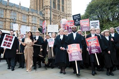 Legal aid protest 7