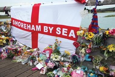 Shoreham aircrash tribute