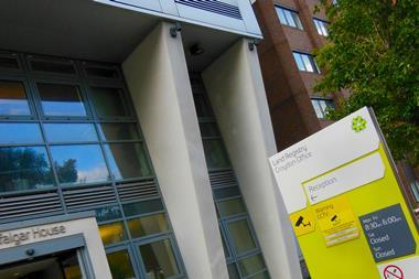 External view of Land Registry HQ Croydon