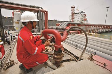 Essar oil rig