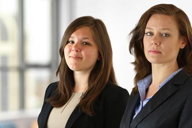 Ally Clapp and Lisa Fairway