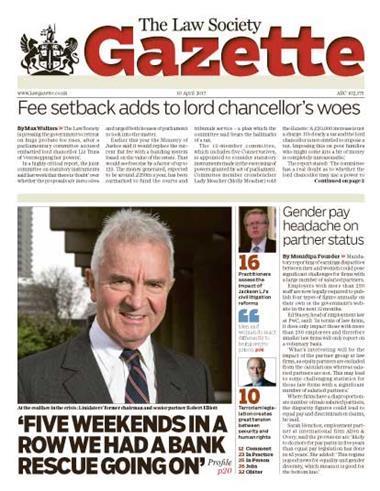 Law Society Gazette 10 April 2017