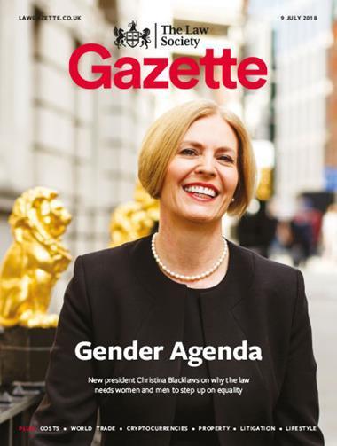 Law Society Gazette 9 July 2018