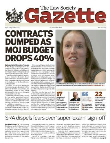 Law Society Gazette 20 November 2017