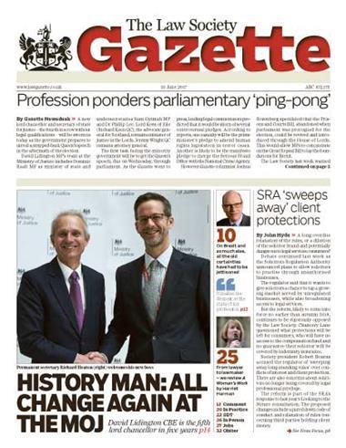 Law Society Gazette 19 June 2017