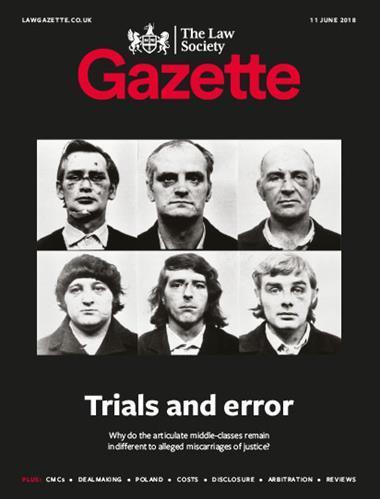 Law Society Gazette 11 June 2018