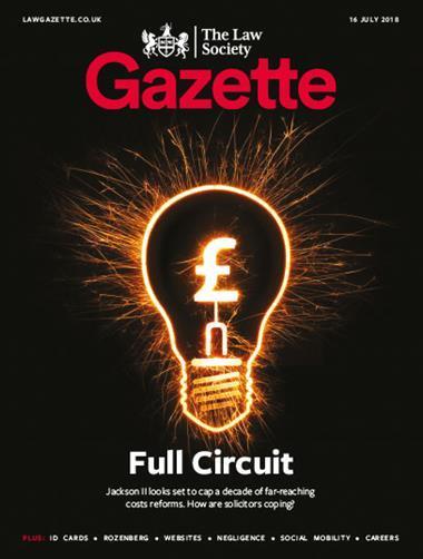 Law Society Gazette 16 July 2018