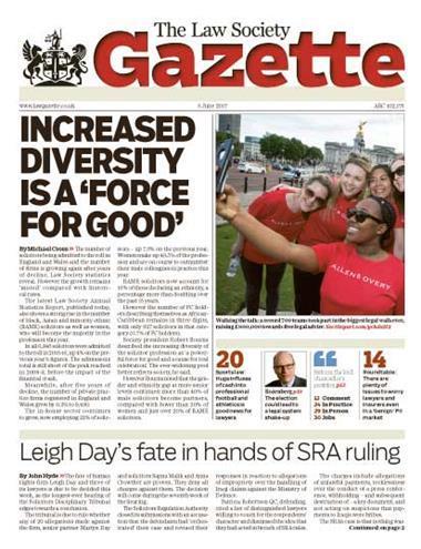 Law Society Gazette 5 June 2017