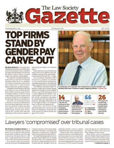 Law Society Gazette 26 February 2018