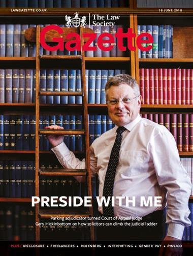 Law Society Gazette 18 June 2018