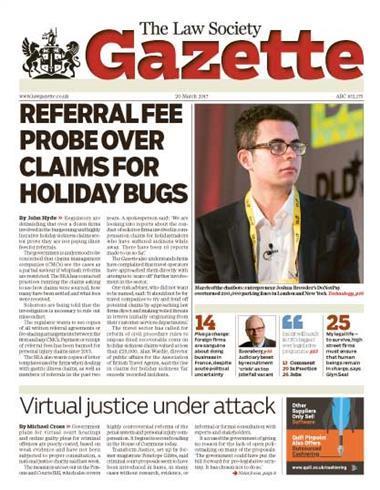 Law Society Gazette 20 March 2017