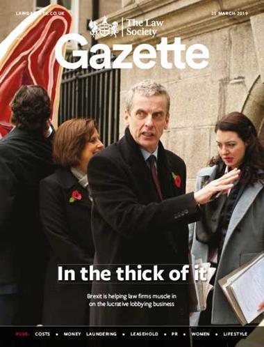 Law Society Gazette 25 March 2019