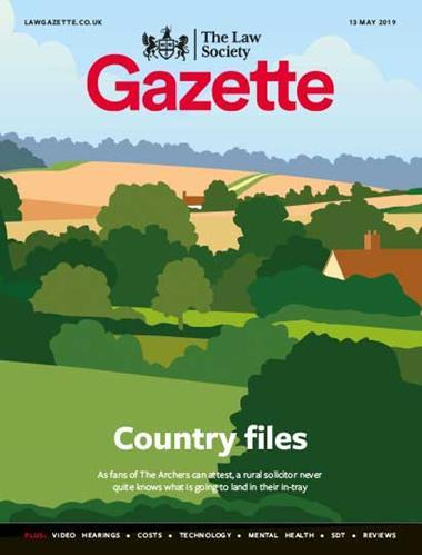 Law Society Gazette 13 May 2019