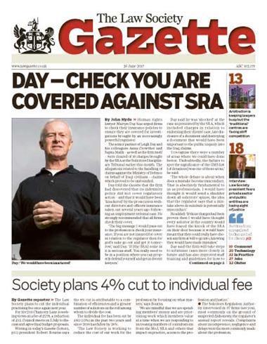 Law Society Gazette 26 June 2017