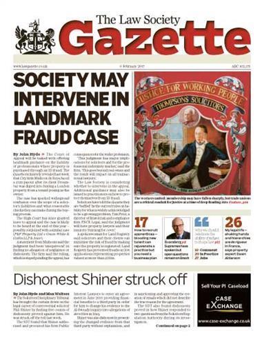 Law Society Gazette 6 February 2017