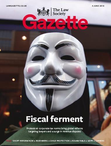 Law Society Gazette 4 June 2018