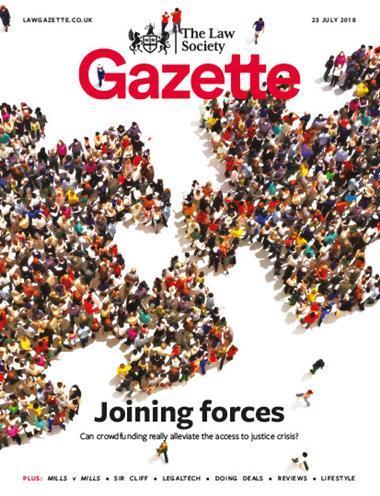 Law Society Gazette 23 July 2018