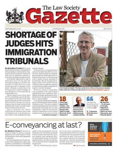 Law Society Gazette 20 February 2017