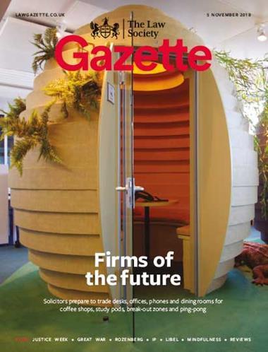 Law Society Gazette 5 November 2018