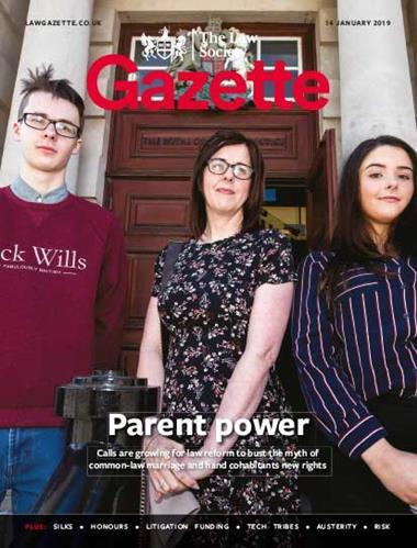Law Society Gazette 14 January 2019