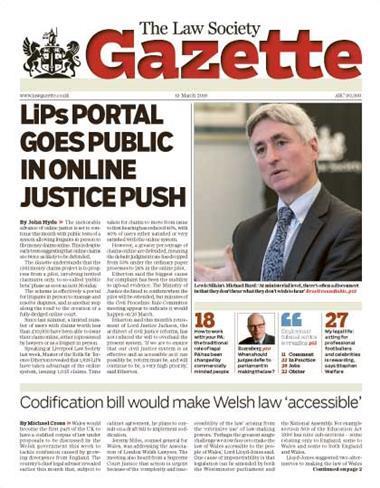 Law Society Gazette 19 March 2018