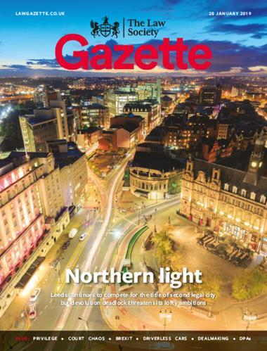 Law Society Gazette 28 January 2019