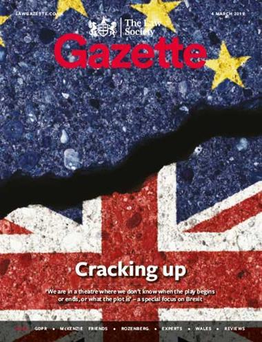 Law Society Gazette 4 March 2019
