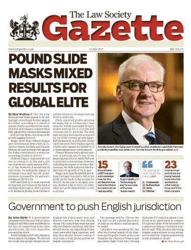 Law Society Gazette 10 July 2017