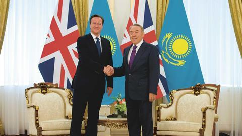 David Cameron Kazakhstan