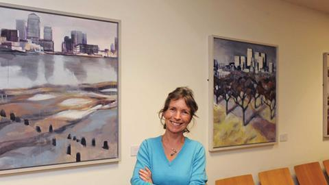 Wendy brooke smith rolls bldg paintings